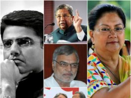 Top 5 Politicians of Rajasthan