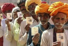 voting in Rajasthan